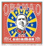 Obama Our Chairman by Conservatoons