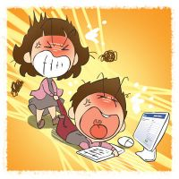Addicted to Internet by fansamuel