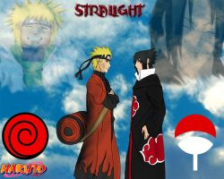 naruto and sasuke in the end by stralight2011