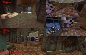 Minecraft- Game Room Design by X-Luminare-X