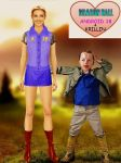 Android 18 and Krillin by Laserskater