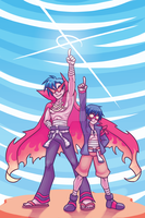 Print - TTGL by SonicRocksMySocks