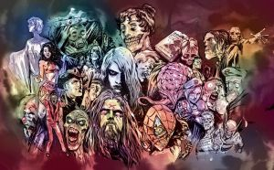 Zombies in popular culture by Santolouco