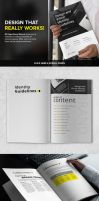80 Pages Extended Brand Manual with REAL TEXT by vectorgenesis