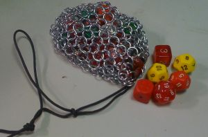 Chainmail dice bag by gmagdic