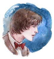11th Doctor by melmoth2014