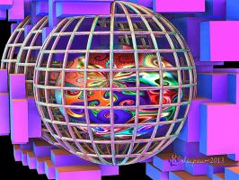 Gnarl Ball in A Cage or Marcia Brady on Drugs by wolfepaw