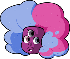 Cotton Candy Gem. by Wazzaldorp