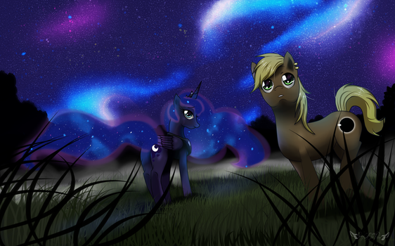 Nightfall (Gift Art) by Kajeayn