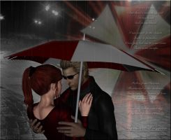 Under his Umbrella by Anendda-Rysden