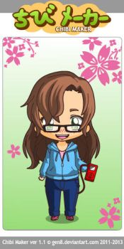 Me chibified by flinpigsntoothfairy