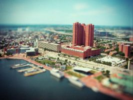 Baltimore tilt-shift by cheyrek