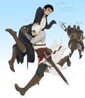Run, Altair, run... by OkamiSinigami