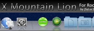 Mountain Lion Rocketdock Skin by JSyLuc123