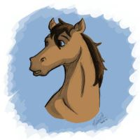 Horse by JJ-Magica