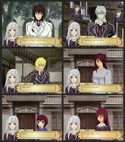 Fake Dating Game Screenshots by Golden-Hourglass