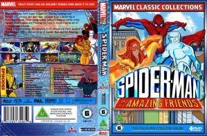 Spider-man And His Amazing Friends  DVD Cover by cutnpaste-since2011