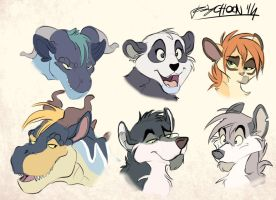 Just a character bunch by Psychoon