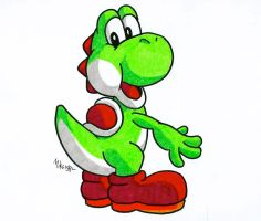 Yoshi by MikeES