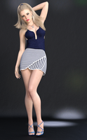Blonde and Beautiful by Roy3D