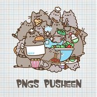[141118 ] PNGs Pusheen by HunhanStyle