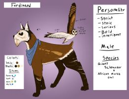 Ferdinand ref by Emerald-Glaceon