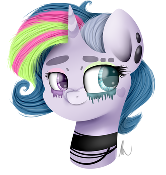 Art trade with a person by VanillaShineArt