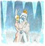 Ice Queen x Fionna by manly-man