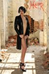 Haywire - leather trenchcoat 1 by wildplaces