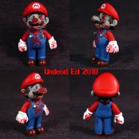 Zombie Mario LOL by Undead-Art