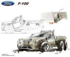 Ford F100 by Slavche