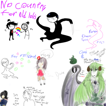 NO COUNTRY FOR OLD LOLIS by Nekoyoujo