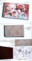 Chocolate Sketch book by Cetriya