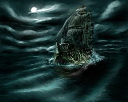 The Flying Dutchman by eviolinist