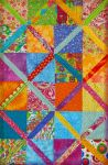 Scrappy Quilt by Simplytina