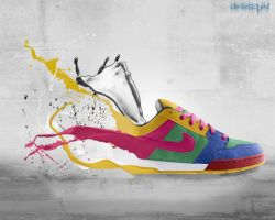 Nike shoes by Cleverson9