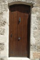 Wooden door 2 by BlokkStox