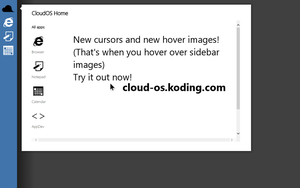CloudOS - Now with even more features! by DevilishDB