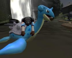 Demoman and Nessie by Alec97531