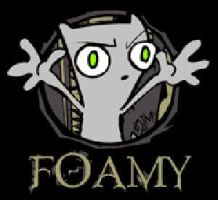 FOAMY ,THE LORD AND MASTER by paintballer420