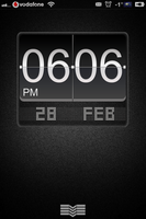 LS Black_big_flip_clock_animated_ MiUI_variation by nucu
