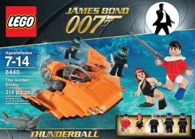 James Bond lego set 4 by Jeffach