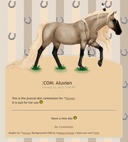 :COM: Aluxien Journal Skin by Metterschlingel