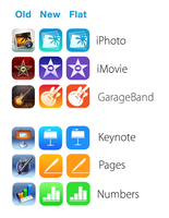 Fixing Apple's new iWork+iLife icons by osullivanluke