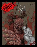 Deadly Thinkers...Freddy by DickStarr