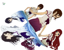 Shinsekai Yori Group1 by anouet