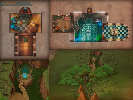 MAP-Dangerous Games: Prisoners of Destiny(2013)2 by Gell4