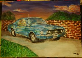 '67 Mustang - updated version by TigaLioness