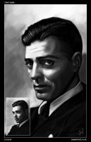 Young Clark Gable by JayWestcott