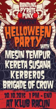 Helloween Party Flyer by HorrorRudey